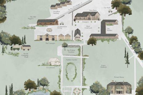 Larchfield Estate Map
