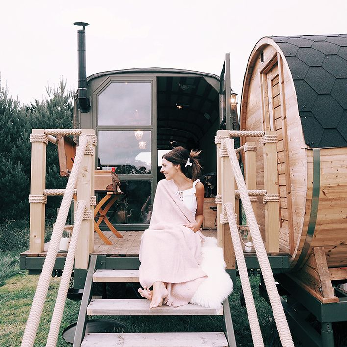 Larchfield Estate Glamping Truck With Sauna1 1