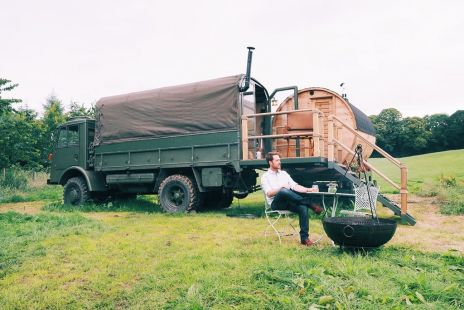 Larchfield Accommodation Glamping Truck